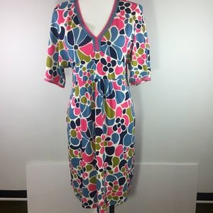 Boden Bright Floral Day Dress US size 6